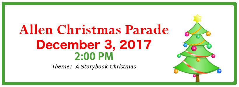 2017-12-Allen Chritsmas Parade